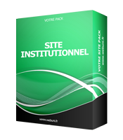 site institutionnel